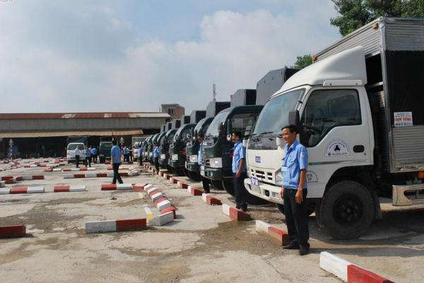 thi bằng lái xe tải hạng c